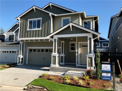 Black Diamond Single Family Home For Sale: 23715 Tahoma Place #90