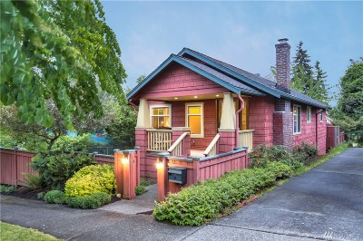 Seattle Single Family Home For Sale: 911 N 87th St