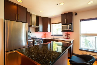 Seattle Condo/Townhouse Sold: 701 Galer St #504