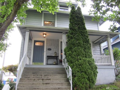 Tacoma Single Family Home For Sale: 2809 N Proctor St