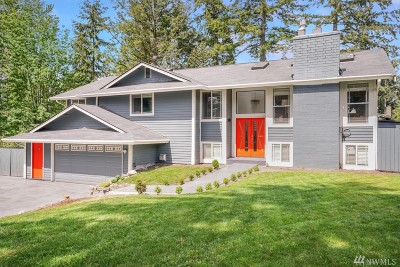 Bellevue Single Family Home For Sale: 12632 SE 68th Place