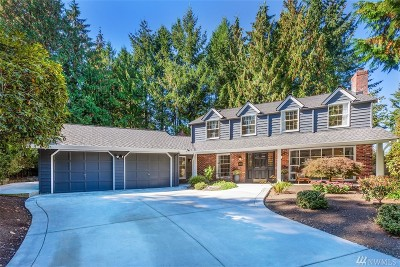 Sammamish Single Family Home For Sale: 2727 209th Ave NE