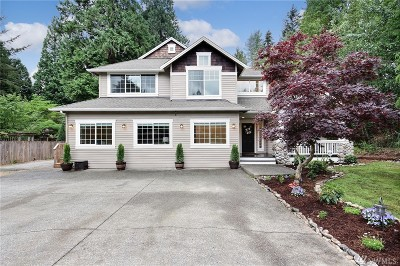 Bothell Single Family Home For Sale: 4706 224th St SE