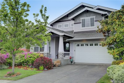 Covington Single Family Home For Sale: 16206 SE 250th Place
