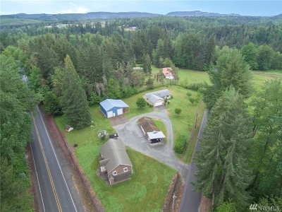 Pierce County Single Family Home For Sale: 13113 Fettig Rd E