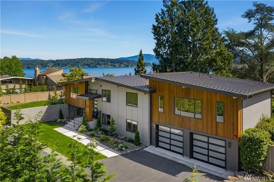 Bellevue Single Family Home For Sale: 234 W Lake Sammamish Pkwy SE