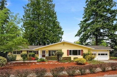 Shoreline Single Family Home For Sale: 1432 NW 191st St