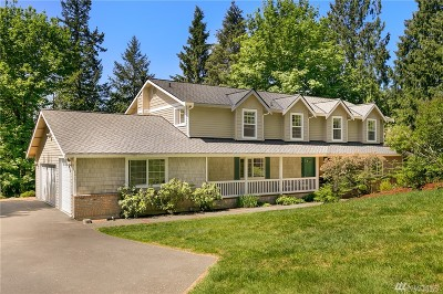 Redmond Single Family Home For Sale: 4017 251st Wy NE