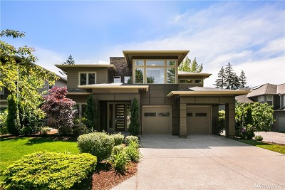 Kirkland Single Family Home For Sale: 12707 NE 107th Place