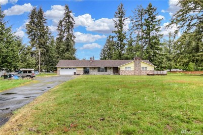 Spanaway Single Family Home For Sale: 1227 176th St E