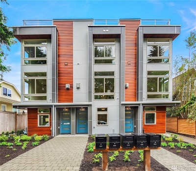 Seattle Single Family Home For Sale: 118 W Florentia St