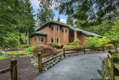 North Bend, Snoqualmie Single Family Home For Sale: 49816 SE Middle Fork Place