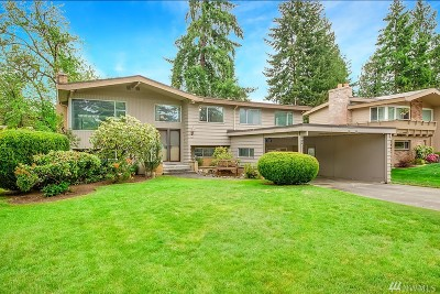 Bellevue Single Family Home For Sale: 304 145th Place NE