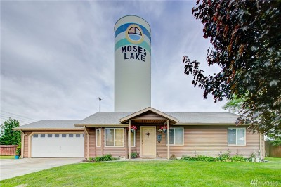Moses Lake WA Single Family Home For Sale: $195,000