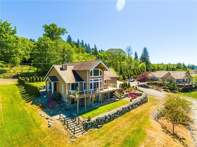 Skagit County Single Family Home For Sale: 18732 Sulfer Springs Rd