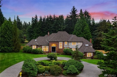 Woodinville Single Family Home For Sale: 15202 NE 167th Place