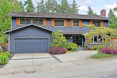 Issaquah Single Family Home For Sale: 4264 181st Place SE