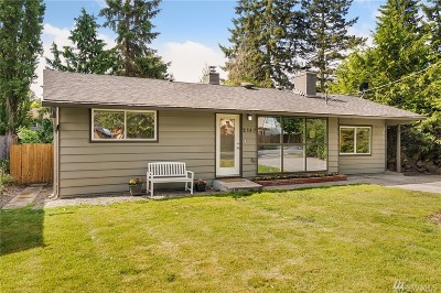Shoreline Single Family Home For Sale: 2147 N 155th St