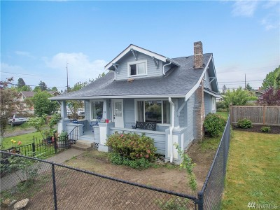 Tacoma Single Family Home For Sale: 214 S 47th St