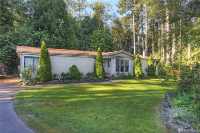 Poulsbo Single Family Home Pending Inspection: 28350 State Hwy 3 NE