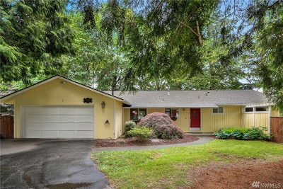 Redmond Single Family Home For Sale: 10216 163rd Ave NE