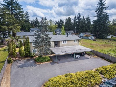 Pierce County Multi Family Home For Sale: 3901 Mason Loop Rd #A-D