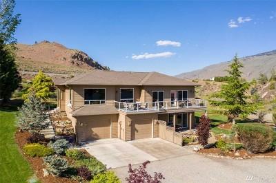 Wenatchee Single Family Home For Sale: 7495 Pot O Gold Lane