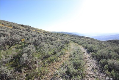 Chelan, Chelan Falls, Entiat, Manson, Brewster, Bridgeport, Orondo Residential Lots & Land For Sale: Chelan Hills Acreage Tract