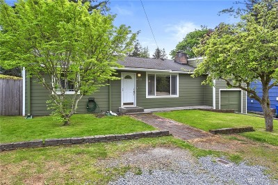 Edmonds Single Family Home For Sale: 8122 206th St SW