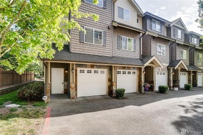 Kenmore Condo/Townhouse For Sale: 17813 80th Ave NE #D-10