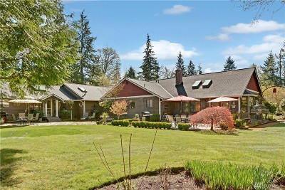 Woodinville Single Family Home For Sale: 13417 239th Place SE