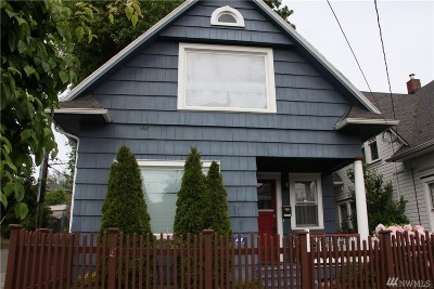 Tacoma Single Family Home For Sale: 809 N 2nd St