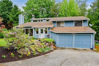 Bothell Single Family Home For Sale: 10654 NE 204 Place