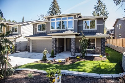 Kirkland Single Family Home For Sale: 7011 124th Ave NE
