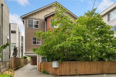 Seattle Single Family Home For Sale: 2253 NW 64th St #A