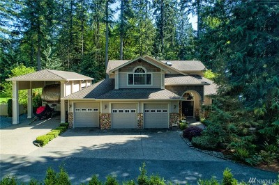 Issaquah Single Family Home For Sale: 14724 Tiger Mountain Rd SE