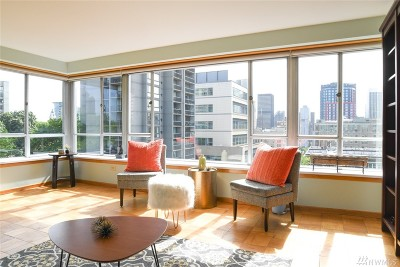 Seattle Condo/Townhouse For Sale: 1221 Minor Ave #810
