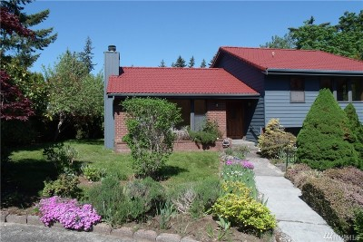 Bellingham Single Family Home For Sale: 1221 W Clearbrook Place