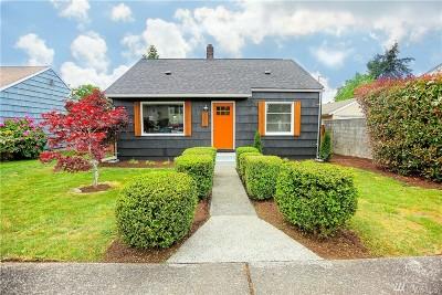 Tacoma Single Family Home For Sale: 6610 S Alder St