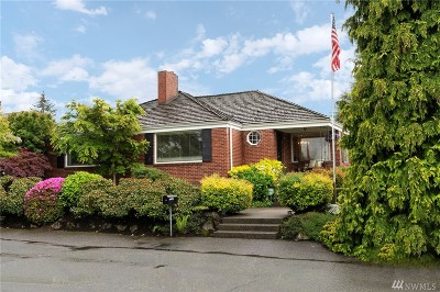 Seattle Single Family Home For Sale: 1739 NW 100th St