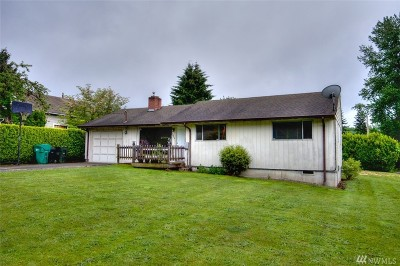 Olympia Single Family Home Pending: 1603 13th Ave SE