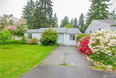 Seattle Single Family Home For Sale: 13721 Ashworth Ave N