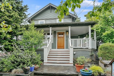 Seattle Single Family Home For Sale: 6550 9th Ave NW
