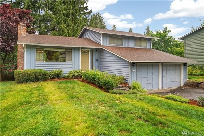 Bothell Single Family Home For Sale: 17510 Valley Circle Dr