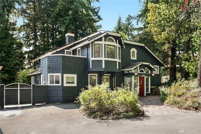 Kirkland Single Family Home For Sale: 11623 73rd Place NE