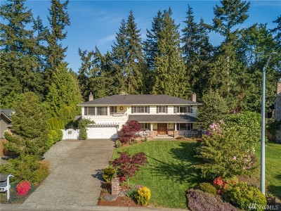 Mukilteo Single Family Home For Sale: 9729 58th Place W