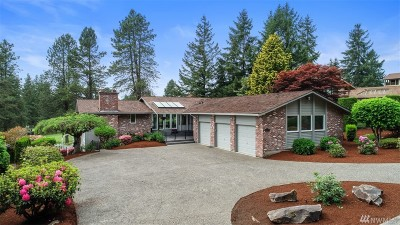 King County Single Family Home For Sale: 24513 142nd Ave SE