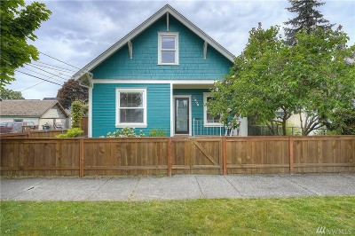 Tacoma Single Family Home For Sale: 1208 S Oakes St