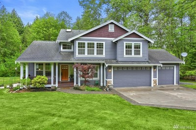 Snohomish County Single Family Home For Sale: 20932 Welch Rd