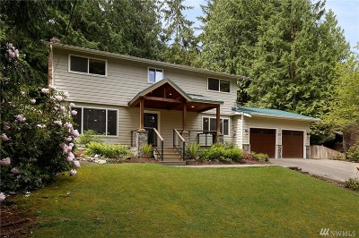 Issaquah Single Family Home For Sale: 850 Highwood Dr SW